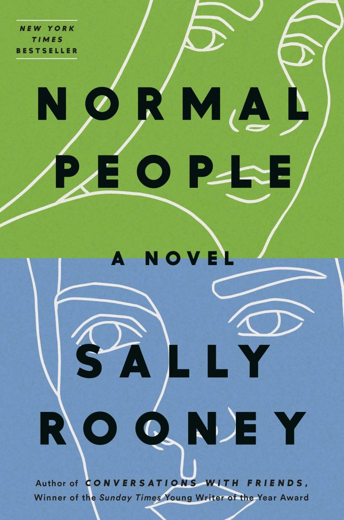Dominée LePen - Blog - Book Review - Sally Rooney - Normal People - Title