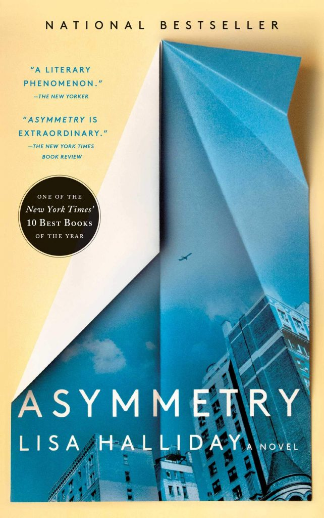 Dominée LePen - Blog - Book Review - Lisa Halliday - Asymmetry - Title