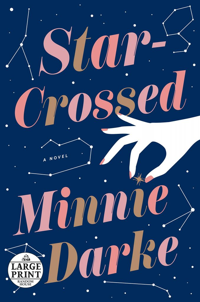 Dominée LePen - Blog - Book Review - Minnie Darke - Star-Crossed - Title